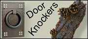 rustic doorknocker