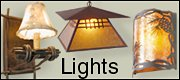 rustic decor lights