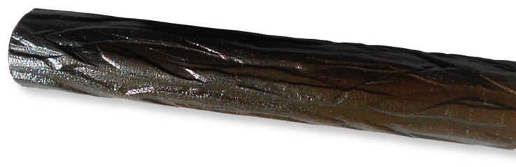 Cast Bronze Pine Motif Curtain Rod
